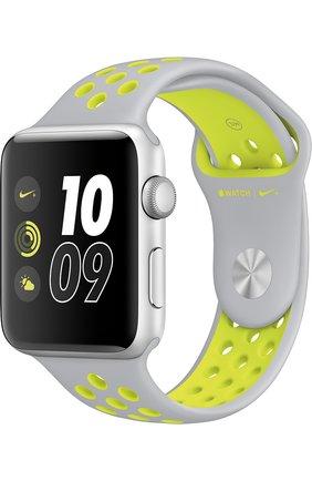 Apple Watch Nike+ 42mm Silver Aluminium Case   Фото №1