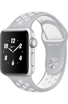 Apple Watch Nike+ 38mm Silver Aluminium Case   Фото №1