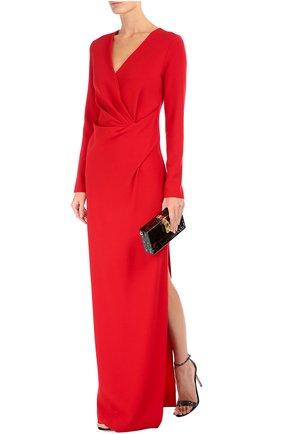 Клатч Dolce Box с кружевом Dolce & Gabbana черного цвета | Фото №2