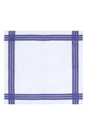 Мужской хлопковый платок SIMONNOT-GODARD голубого цвета, арт. ADELIE | Фото 2