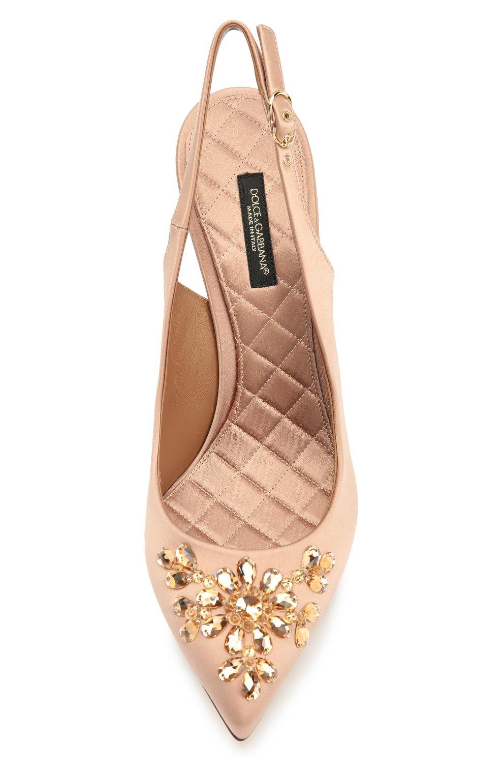 Текстильные туфли Bellucci с декором | Фото №5