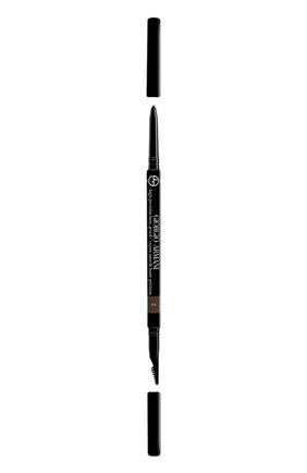 Женский карандаш для бровей, оттенок 2 GIORGIO ARMANI бесцветного цвета, арт. 3614271258069   Фото 1