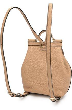 Кожаный рюкзак Sicily Backpack small | Фото №3