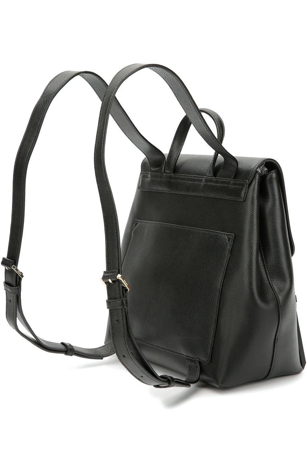cf64948a33dd Женский черный кожаный рюкзак bryant park DKNY — купить за 24900 руб ...