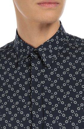 Хлопковая рубашка с узором | Фото №5