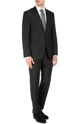 Классические замшевые дерби Dolce & Gabbana черные | Фото №3