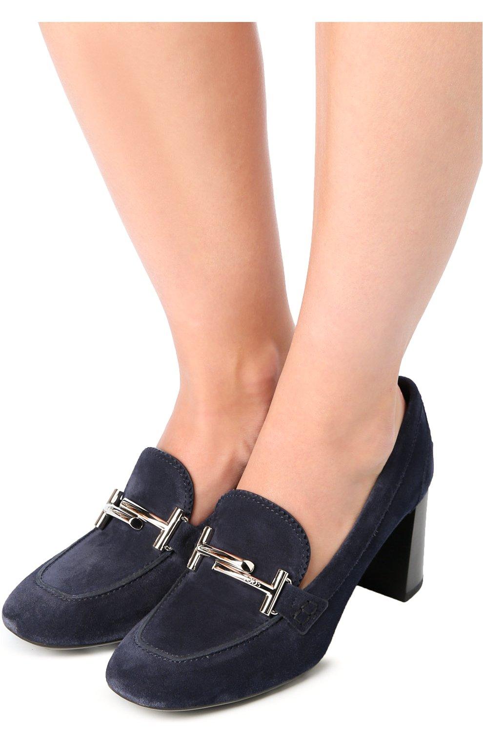 Замшевые туфли Gomma с пряжкой | Фото №2