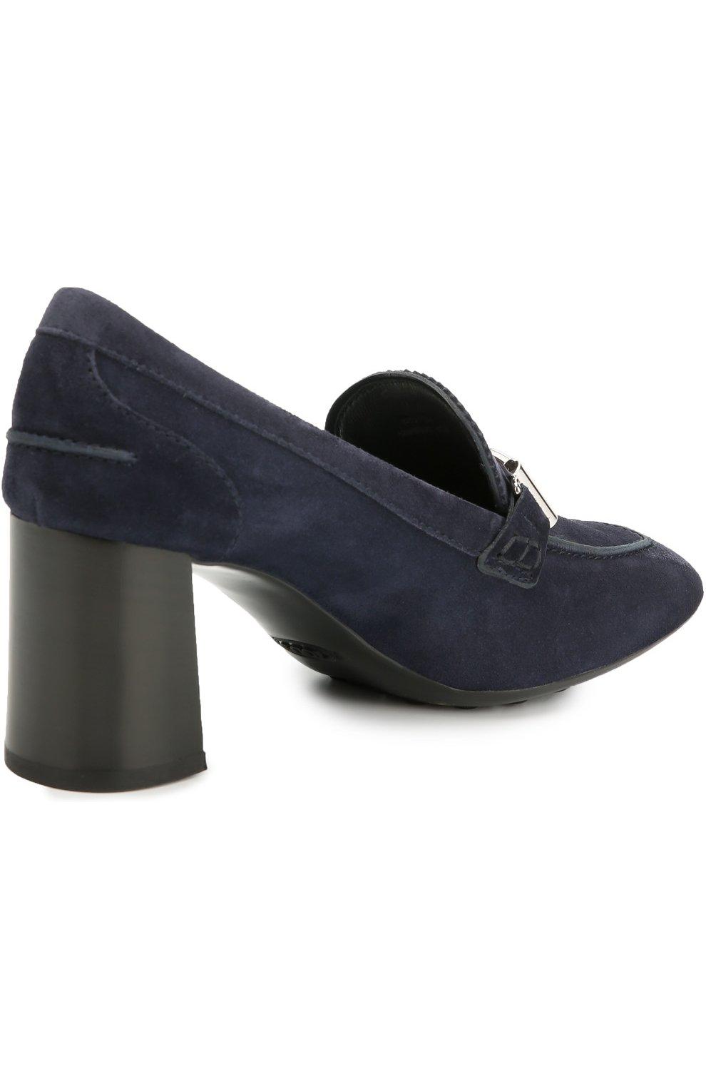 Замшевые туфли Gomma с пряжкой | Фото №4