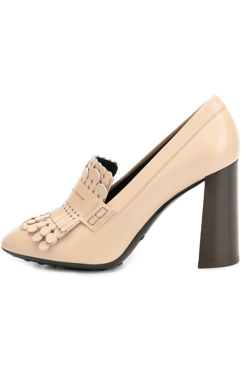 Кожаные туфли Gomma с декором | Фото №1
