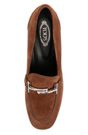 Замшевые туфли Gomma с пряжкой | Фото №5