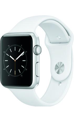 Apple Watch Series 1 42mm Silver Aluminium Case   Фото №1