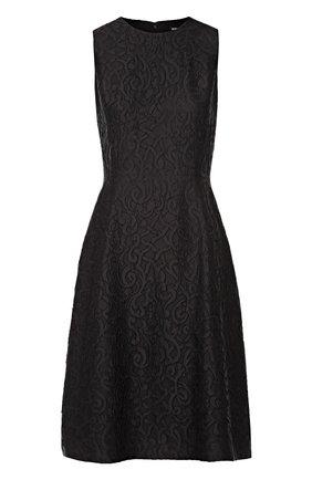 Кружевное приталенное платье без рукавов | Фото №1
