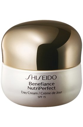 Женское дневной крем benefiance nutriperfect  SHISEIDO бесцветного цвета, арт. 19110SH | Фото 1