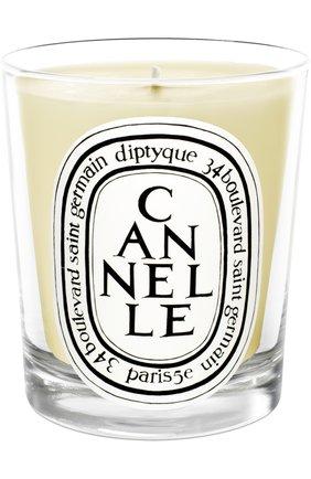 Мужская свеча cannelle DIPTYQUE бесцветного цвета, арт. 3700431400062 | Фото 1