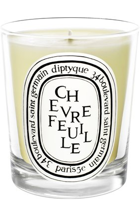 Мужская свеча chevrefeuille DIPTYQUE бесцветного цвета, арт. 3700431400093 | Фото 1