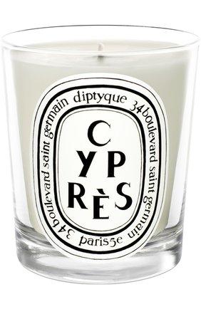 Мужская свеча cypres DIPTYQUE бесцветного цвета, арт. 3700431400147 | Фото 1