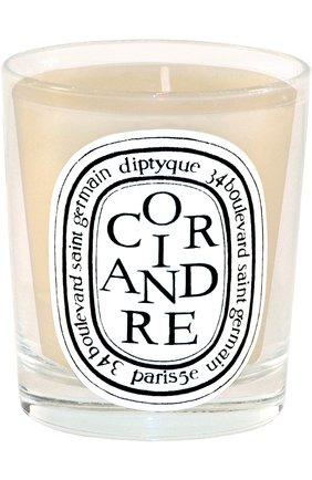 Мужская свеча coriander DIPTYQUE бесцветного цвета, арт. 3700431400123 | Фото 1