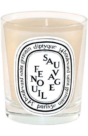 Мужская свеча fenouil sauvage DIPTYQUE бесцветного цвета, арт. 3700431400598 | Фото 1