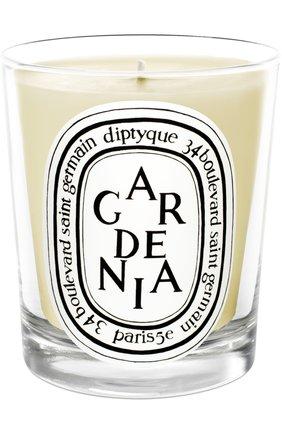Мужская свеча gardenia  DIPTYQUE бесцветного цвета, арт. 3700431400208 | Фото 1