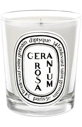 Свеча Geranium Rosa | Фото №1