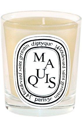 Мужская свеча maquis  DIPTYQUE бесцветного цвета, арт. 3700431400604 | Фото 1