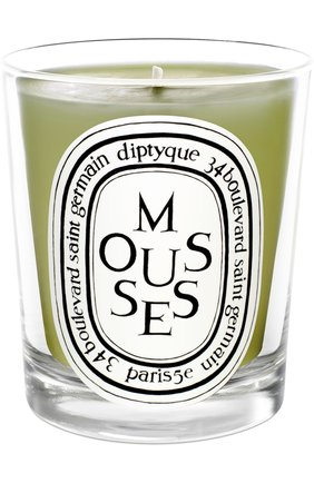 Мужская свеча mousses DIPTYQUE бесцветного цвета, арт. 3700431400352 | Фото 1