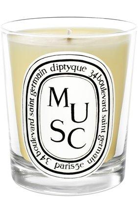 Мужская свеча musc DIPTYQUE бесцветного цвета, арт. 3700431400376 | Фото 1