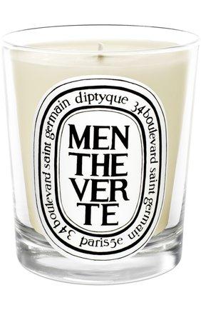 Мужская свеча menthe verte  DIPTYQUE бесцветного цвета, арт. 3700431400321 | Фото 1