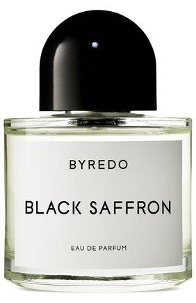 Парфюмерная вода black saffron BYREDO бесцветного цвета, арт. BR809251 | Фото 1
