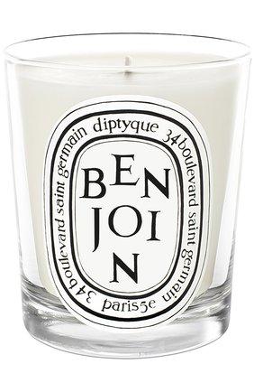 Мужская свеча benjoin DIPTYQUE бесцветного цвета, арт. 3700431408617 | Фото 1