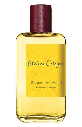 Парфюмерная вода Bergamote Soleil Atelier Cologne   Фото №1