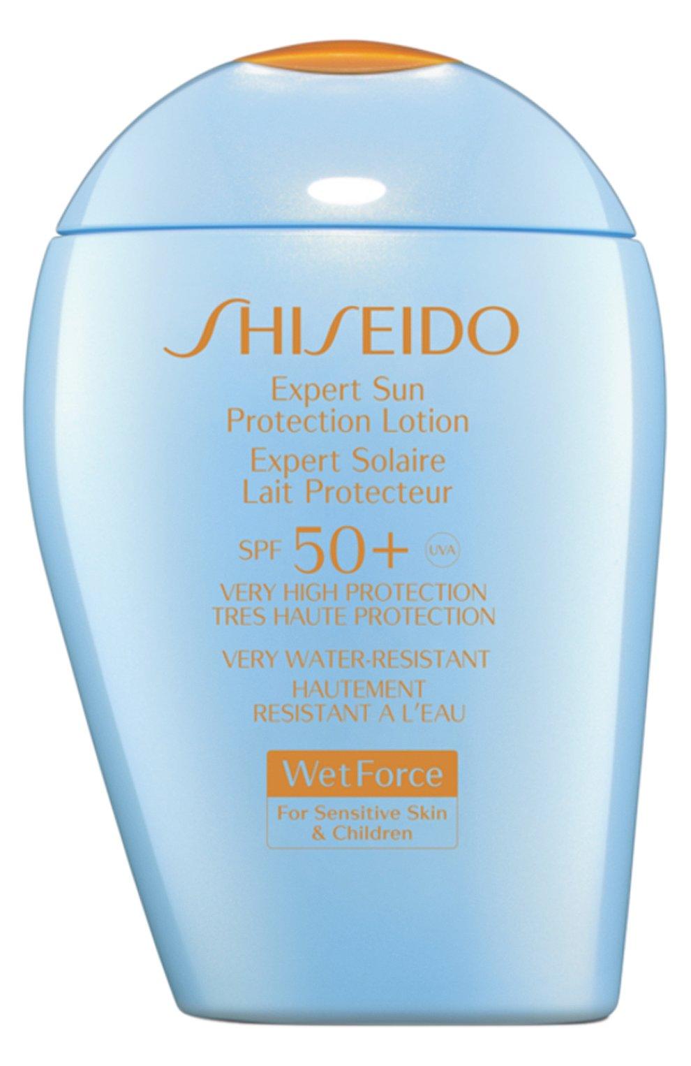 Женский солнцезащитный лосьон для чувствительной и детской кожи SHISEIDO бесцветного цвета, арт. 11955SH | Фото 1