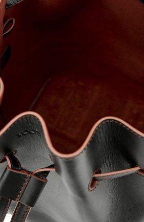 Сумка Wave Bucket Medium Tod's черная цвета | Фото №4