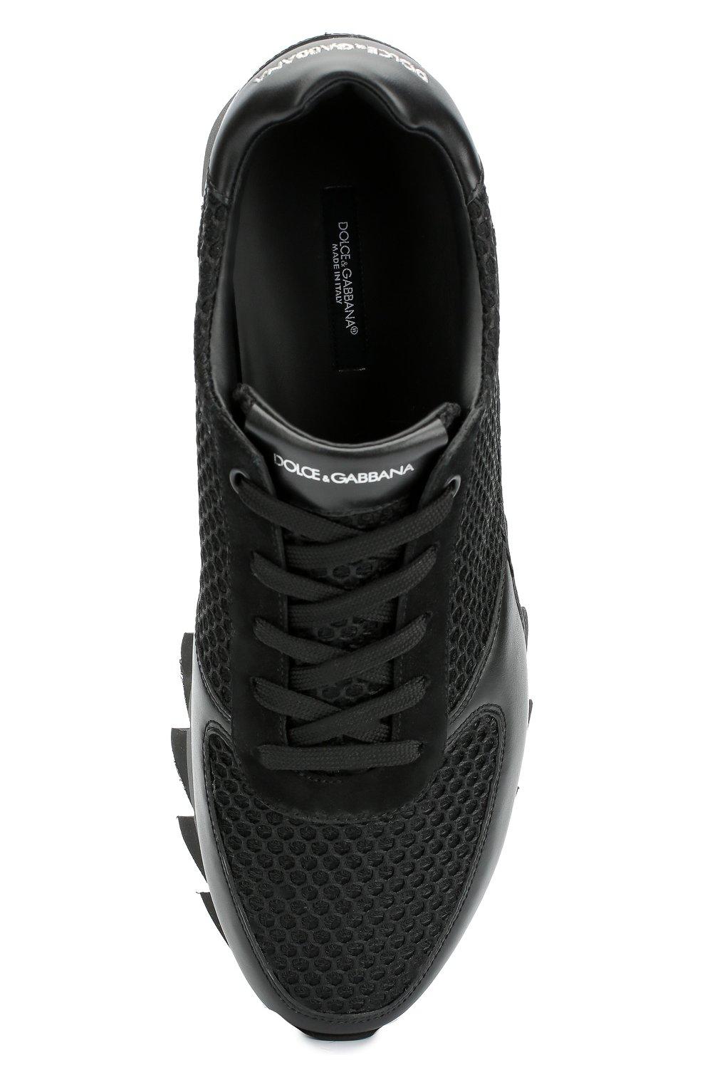 Комбинированные кроссовки Capri на толстой подошве | Фото №6