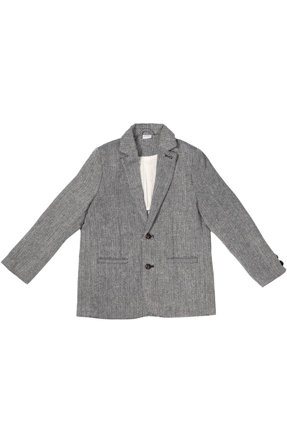 Однобортный пиджак Oliver с узором  | Фото №1