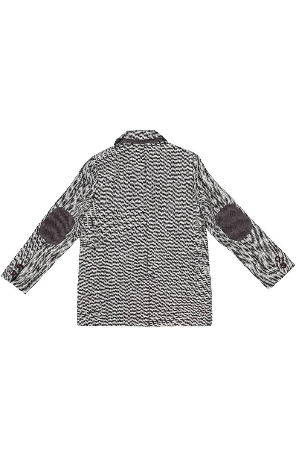Однобортный пиджак Oliver с узором  | Фото №2
