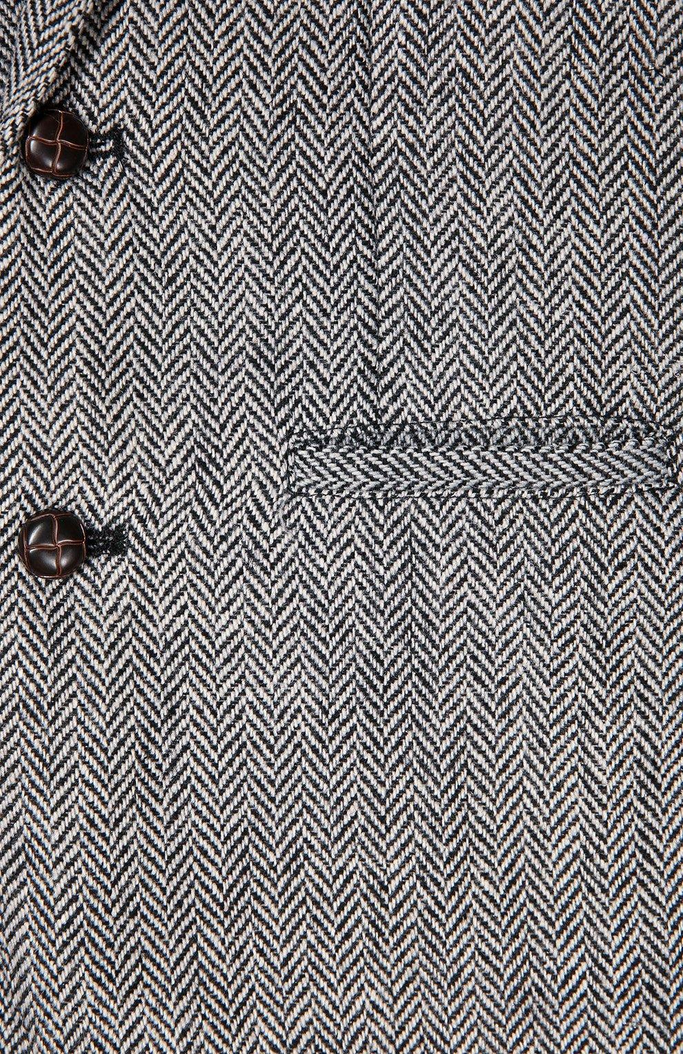 Однобортный пиджак Oliver с узором  | Фото №3