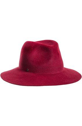 Шляпа из фетра Inverni бордового цвета | Фото №1