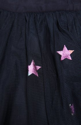 Юбка из тюля с принтом в виде звезд | Фото №3