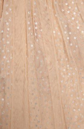 Юбка из тюля А-образного силуэта    Фото №3
