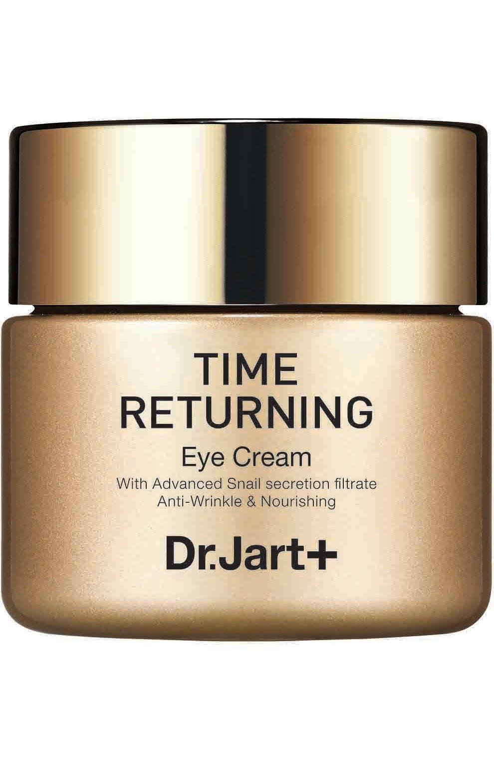 Женского антивозрастной крем для глаз с муцином улитки time returning  DR.JART+ бесцветного цвета, арт. 8809380647513   Фото 1