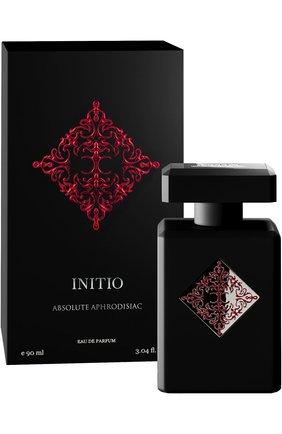 Женский парфюмерная вода absolute aphrodisiac INITIO бесцветного цвета, арт. 3700578520104 | Фото 1
