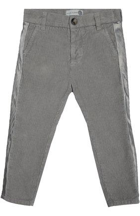 Брюки из хлопка Hitch-hiker серого цвета | Фото №1