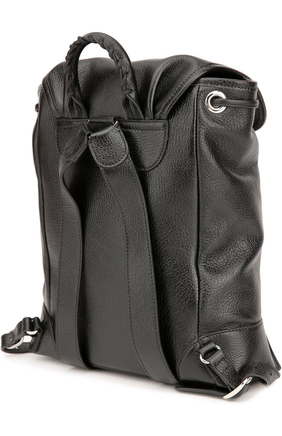 Кожаный рюкзак Metallic Edge Traveller | Фото №3