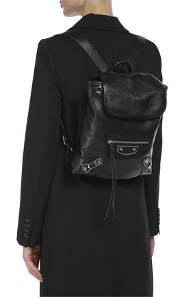 Кожаный рюкзак Metallic Edge Traveller | Фото №5