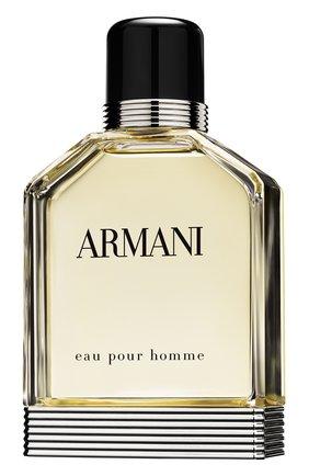 Мужской туалетная вода eau pour homme GIORGIO ARMANI бесцветного цвета, арт. 3605521544353   Фото 1 (Статус проверки: Проверена категория; Ограничения доставки: flammable)