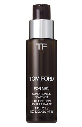 Мужская масло для бороды oud wood TOM FORD бесцветного цвета, арт. T3EX-01 | Фото 1