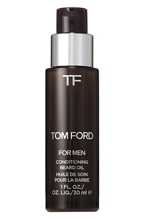 Мужская масло для бороды tobacco vanille TOM FORD бесцветного цвета, арт. T3EY-01 | Фото 1