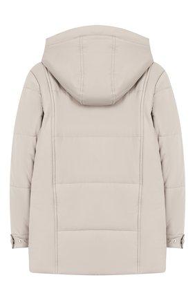 Утепленная куртка с капюшоном | Фото №2