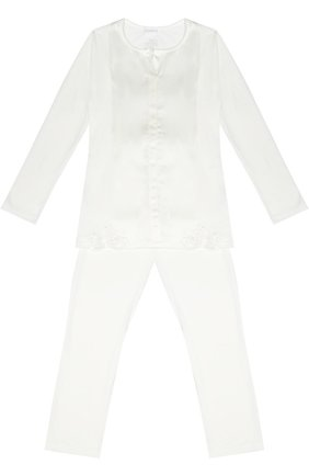 Пижама с кружевной отделкой | Фото №1